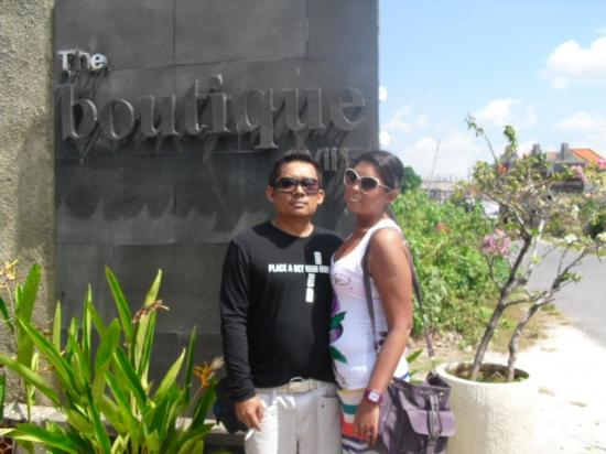 The Boutique Villa : We obviously enjoyed our stay!!