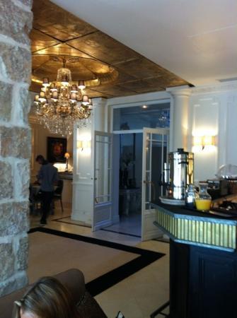 Hotel de Monaco : lobby
