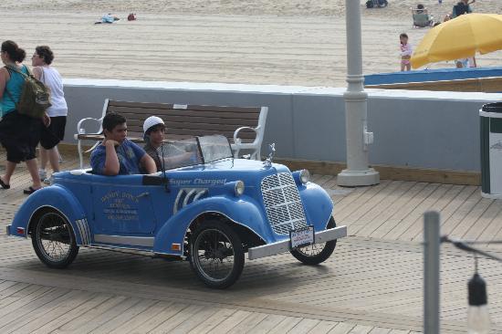 Harrison Hall: Enjoy activities on Boardwalk