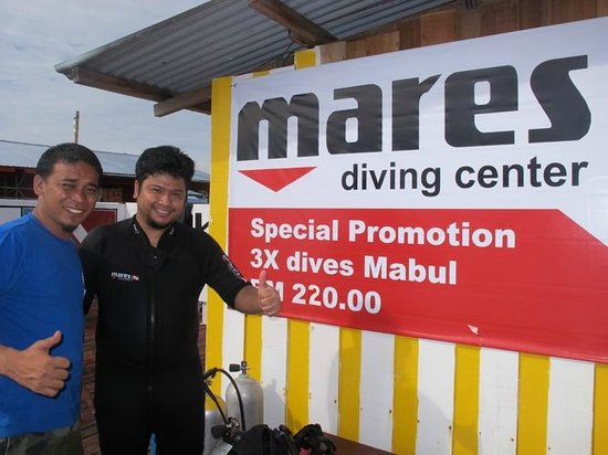 Scuba Jeff Guest House: Mares, the official diving brand at Scubajeff. Latest diving equipment can be rent here!