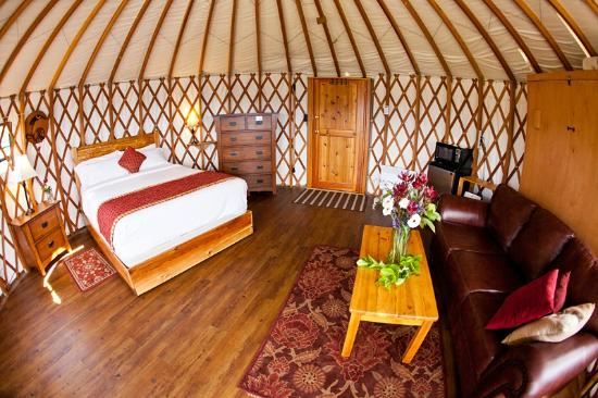 Soule Creek Lodge: Pandora's Yurt