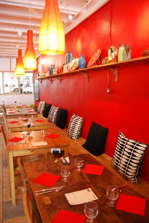L'Atelier : la salle du restaurant