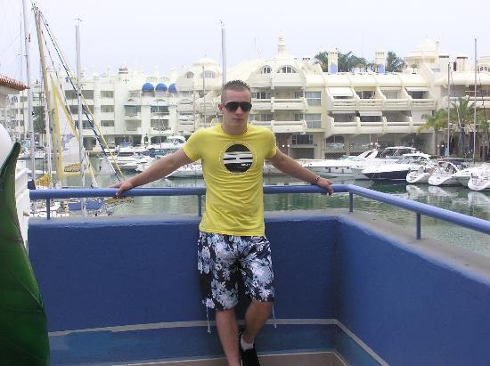 Hotel San Fermin: the marina benalmadena