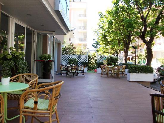 Hotel Polo : giardino