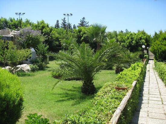 Golden Age Hotel: Jardins