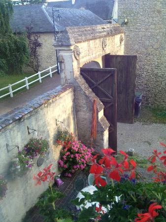 Manoir des Doyens : entrance