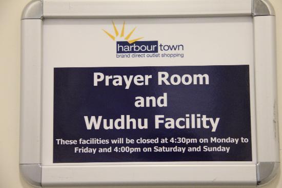 بيرث, أستراليا: Prayer room at information office