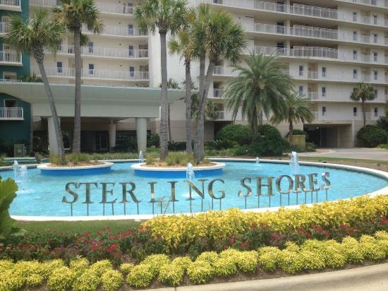 Entry to Sterling Shores