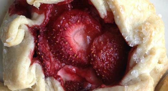 Batch Bakehouse : Summer means fruit galettes.