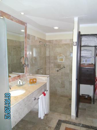 Royal Level at Occidental Cozumel: room 2118 room (great water pressure)