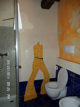 Dimora Le nove Fate: Even the bathrooms were completed with thought