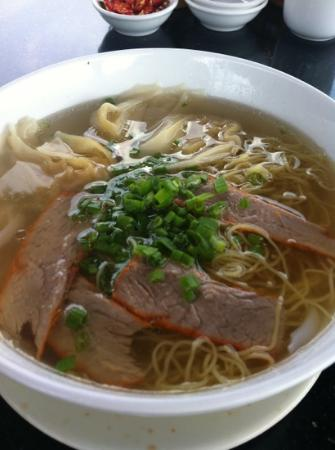 Thanh Thuy Blue Water Restaurant: pork noodle soup
