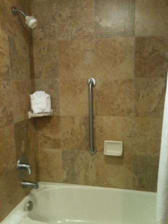 Hampton Inn Nashville / Brentwood I-65S: new bathroom tile