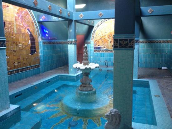 McMenamins Old St. Francis School: soaking pool 