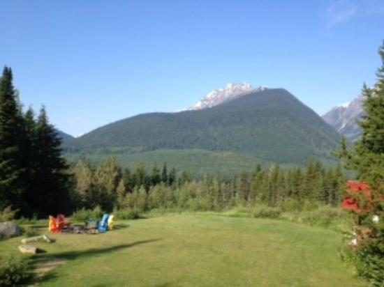 Heather Mountain Lodge: beautiful mountain views