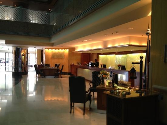 Jeddah Hilton Hotel: reception area
