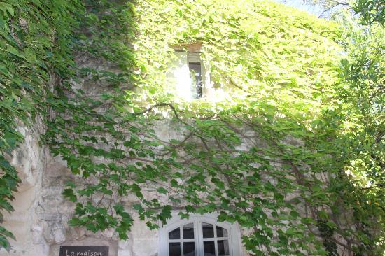 La Maison des Lauriers : la façade
