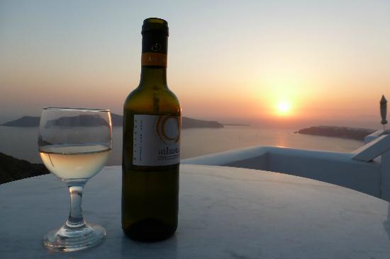 Tholos Resort: al tramonto