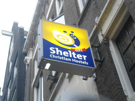 Shelter City Hostel Amsterdam: Placa