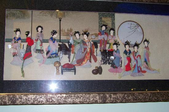 Teppanyaki Sushi & Seafood Buffet: Beautiful Chinese Decor