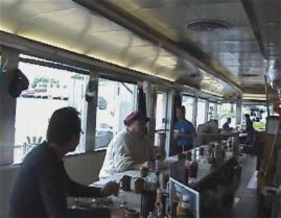 Davies Chuck Wagon Diner: Davie's Chuck Wagon Diner inside
