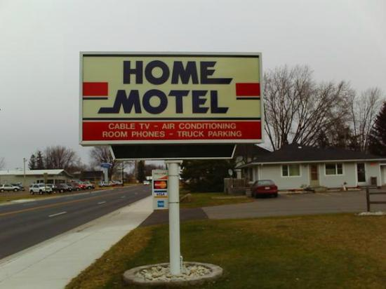 Home Motel - Sign