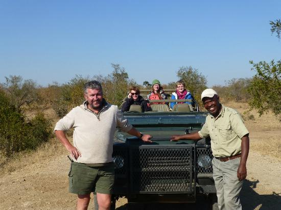 Shindzela Tented Camp : Dave and Sam--great guides!