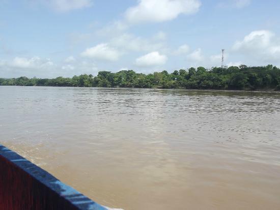Yaxchilan: El río Usumacinta