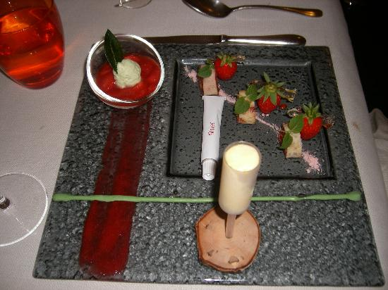 Restaurant Le Gambetta : Strawberry and Basil.