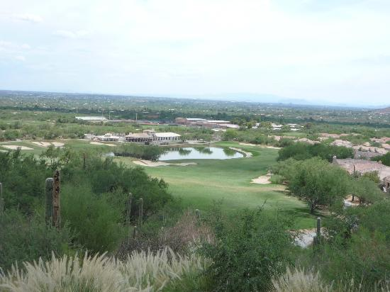 Arizona National Golf Club: View from the 18th Tee.
