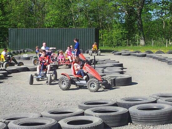 Briarlands Farm: Go-karts...single and doubles.