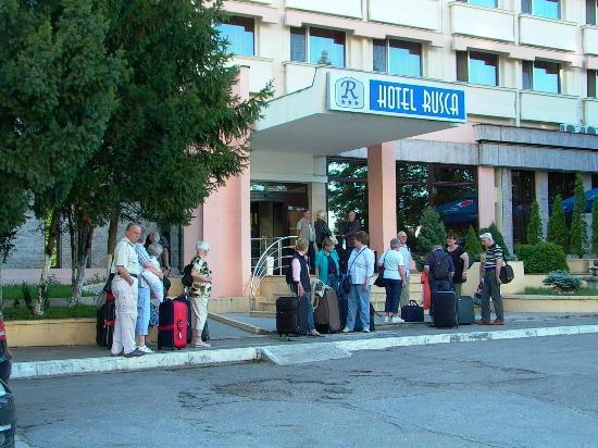Hotel Rusca: Hotel Eingangsbereich