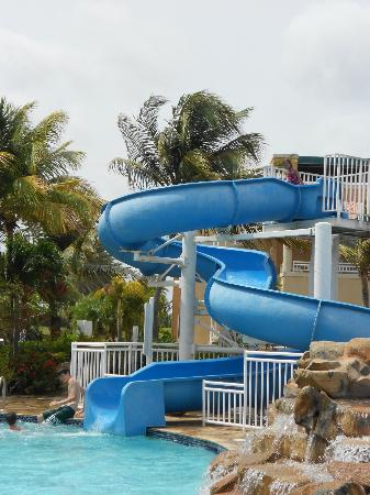 Divi Village Golf And Beach Resort Waterslide Needs Washed But Super Fun