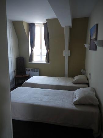 Hôtel François d'Ô : Chambre avec 2 lits séparés