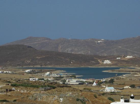 A Hotel  Mykonos: View from the pool