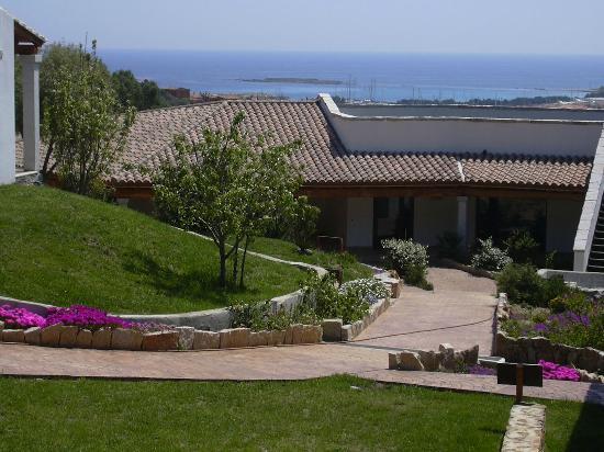 Hotel Lu Baroni: panorama