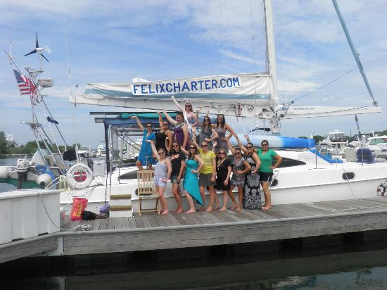 Felix Charter - Day Tours: Girls on Felix the Cat Charter