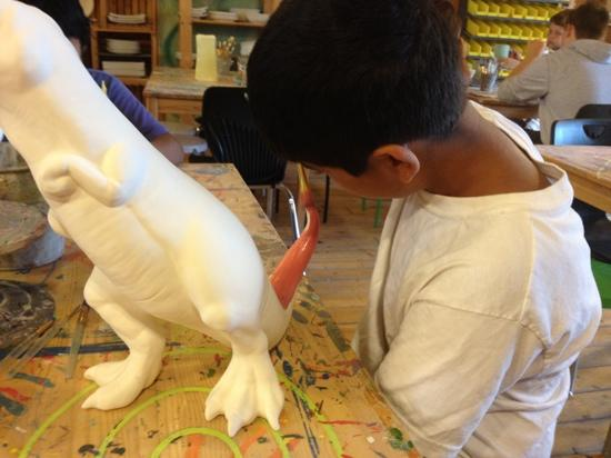 Hands On Art Studio: $60 dinosaur