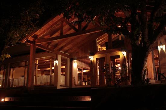 Tierra Mapuche: Entrada por la noche