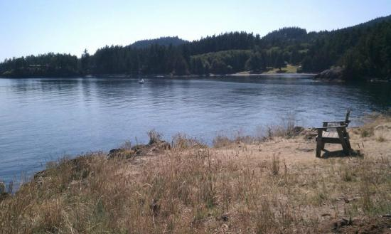 Doe Bay Resort and Retreat: View from the camsite