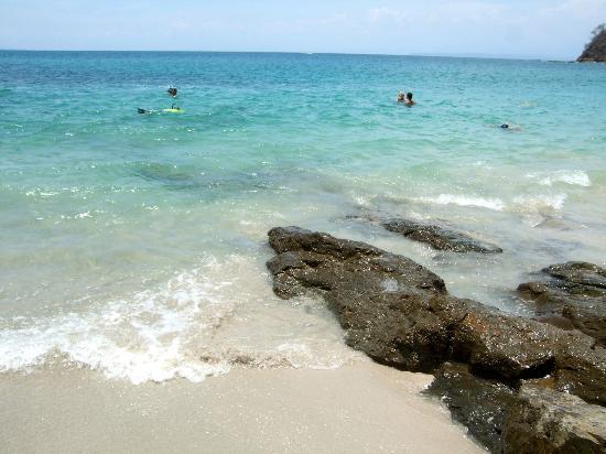 Hotel & Club Punta Leona: Playa Blanca - wonderful beach. Don't expect to get a chair.