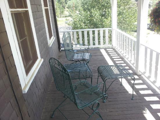 Elkhorn Lodge and Guest Ranch: Honeymoon balcony