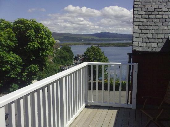 Harbour View Bed and Breakfast: Your own private balcony , Harbour View , Tobermory