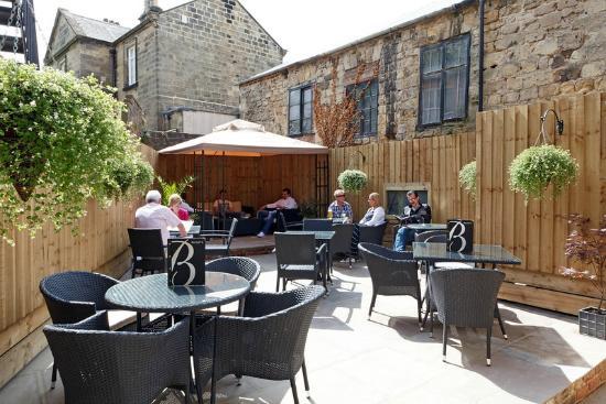 Becket's Restaurant & Grill: Sun Terrace