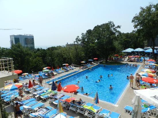 Hotel Slavey: the big pool
