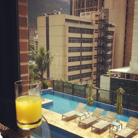 Renaissance Caracas La Castellana Hotel : buenos días!!!