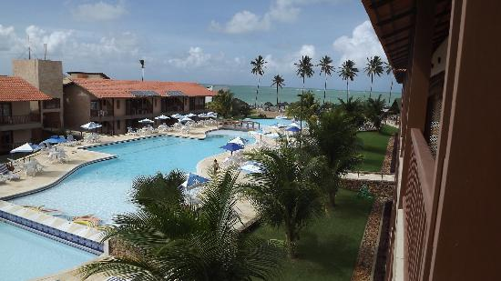 Salinas de Maceio Beach Resort: vista da sacada