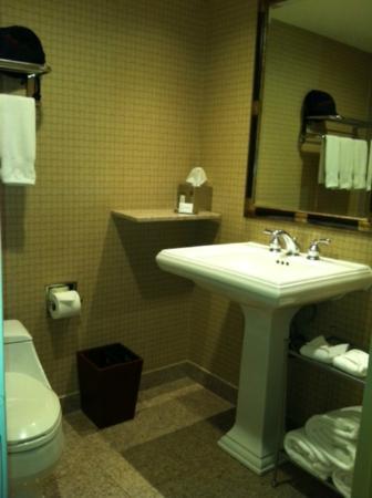 Doubletree Hotel Bethesda: Bathroom