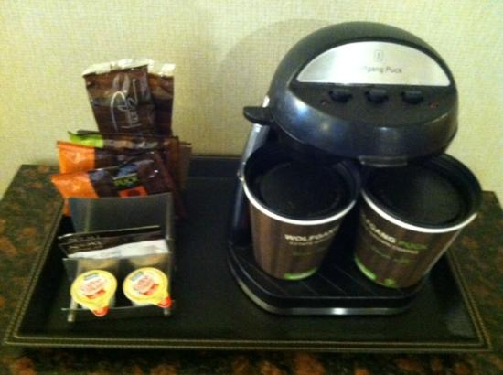 Doubletree Hotel Bethesda: Coffee and Tea