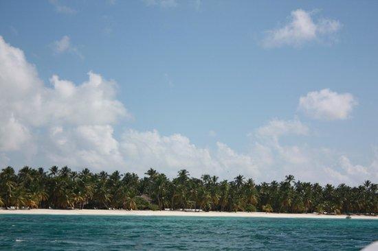 Ryanna Sun: vue de saona du bateau rapide